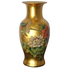 <strong>Oriental Furniture</strong> Fishtail Vase