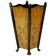 <strong>Oriental Furniture</strong> Bamboo Accent Umbrella Stand