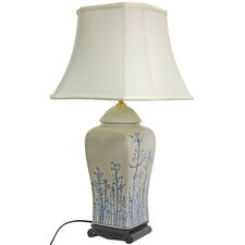 <strong>Oriental Furniture</strong> Vase Table Lamp