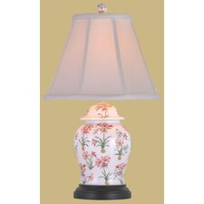 Porcelain Floral Jar Table Lamp