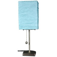 """Yoko 17"""" H Table Lamp with Rectangle Shade"""