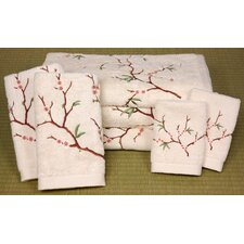 7 Piece Cherry Blossom Bath Set