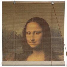 <strong>Oriental Furniture</strong> Mona Lisa Rayon Roller Blind