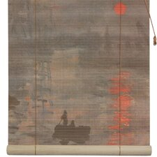 Impression Sunrise Bamboo Roller Blind