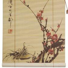 Sakura Blossom Bamboo Roller Blind