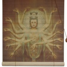Thousand Arm Kwan Yin Rayon Roller Blind