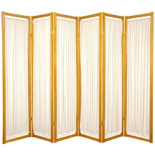 "<strong>Oriental Furniture</strong> 72"" x 84"" Helsinki Shoji 6 Panel Room Divider"