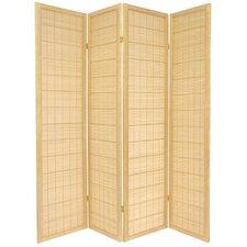 "72"" x 56"" Kimura Shoji 4 Panel Room Divider"