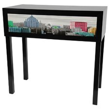 <strong>Oriental Furniture</strong> Colorful New York Console Table