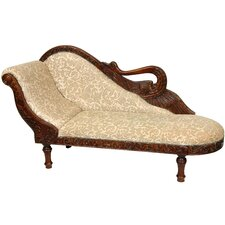 Queen Elizabeth Swan Cotton Chaise Lounge