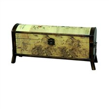 Horse Design Oriental Storage Box