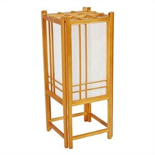 <strong>Oriental Furniture</strong> Double Cross Shoji Table Lamp