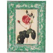 Rustic Rose Framed Graphic Art
