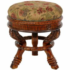 <strong>Oriental Furniture</strong> Queen Anne Tuffet Stool