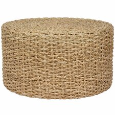 Rush Grass Knotwork Coffee Table/Ottoman
