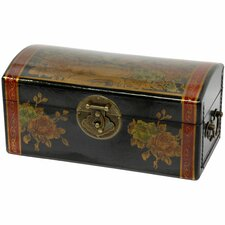 <strong>Oriental Furniture</strong> Flowers Jewelry Box