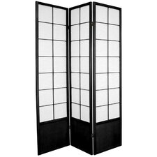"70.25"" x 42"" Asian Zen 3 Panel Room Divider"