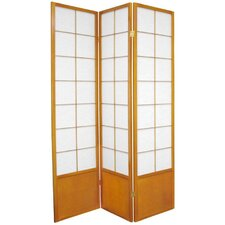 Zen Asian Room Divider in Honey