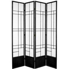 "83.5"" x 57"" Eudes Shoji 4 Panel Room Divider"