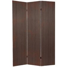 "70"" x 47.25"" Bamboo 3 Panel Room Divider"