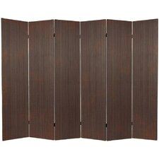 "70"" x 94.5"" Bamboo 6 Panel Room Divider"