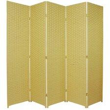 "70.75"" x 87.5"" 5 Panel Room Divider"