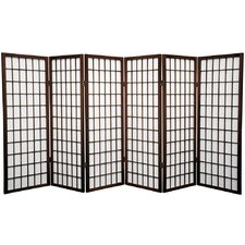 "<strong>Oriental Furniture</strong> 48"" Shoji Window Pane Room Divider"