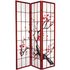 Flower Blossom Room Divider in Rosewood