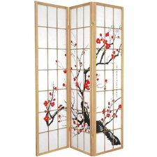 Flower Blossom Room Divider in Natural