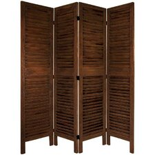 "67"" Tall Classic Venetian 4 Panel Room Divider"