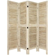 "67"" Tall Classic Venetian 4 Panel Room Divider"