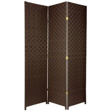 "<strong>Oriental Furniture</strong> 71"" x 43"" All Weather 3 Panel Room Divider"