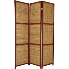 "70.75"" x 44"" Window 3 Panel Room Divider"
