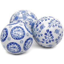 3 Piece Decorative Ball Set
