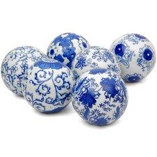 6 Piece Decorative Ball Set