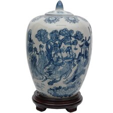 <strong>Oriental Furniture</strong> Ladies Decorative Jar