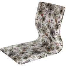 Tatami Floral Meditation Fabric Lounge Chair