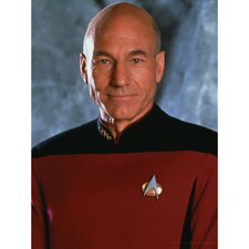 Star Trek Captain Jean-Luc Picard Photographic Print on Canvas