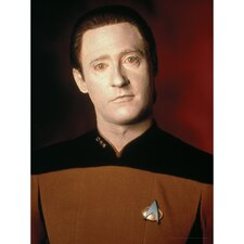 Star Trek Commander Data Photographic Print on Canvas