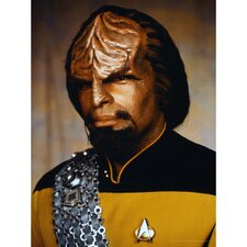 Star Trek Lieutenant Worf Photographic Print on Canvas
