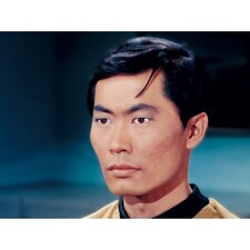 Star Trek Lieutenant Hikaru Sulu Photographic Print on Canvas