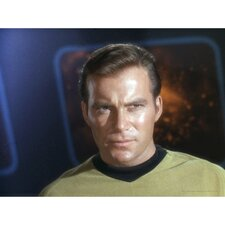 Star Trek Captain James T. Kirk Photographic Print on Canvas