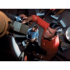 Star Trek Scotty and Bones Photographic Print on Canvas