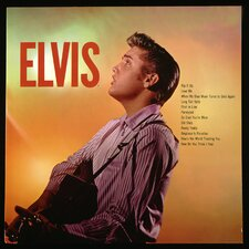 Elvis Presley 1956 Elvis Album Wall Art