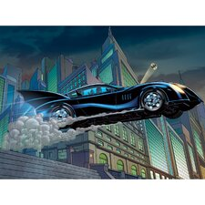 Batmobile Canvas Art