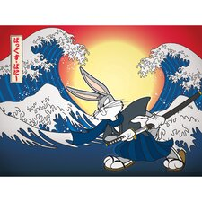 Bugs Bunny Samurai Canvas Art