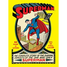 <strong>Oriental Furniture</strong> Superman Issue No. 1 Wall Art