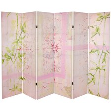 "<strong>Oriental Furniture</strong> 63"" x 94.5"" Harmony 6 Panel Room Divider"