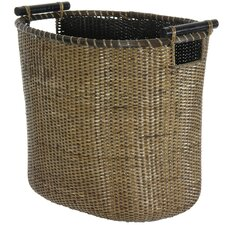 <strong>Oriental Furniture</strong> Rattan Laundry Hamper