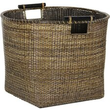 <strong>Oriental Furniture</strong> Rattan Storage Basket (Set of 4)